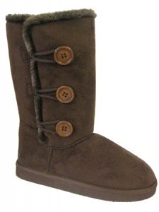 W096 - Ladies Faux suede 3 Button Boot[1]